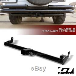 For 1997-2006 Jeep Wrangler Class 3 Trailer Hitch Receiver Bumper Towing 2 V2