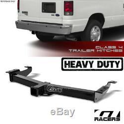For 2000-2014 E150/E250/E350 Class 4 Trailer Hitch Receiver Tow Heavy Duty 2