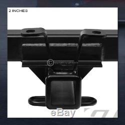 For 2001+ Silverado/Sierra Hd Class 4 Matte Black Trailer Hitch Receiver Tow 2