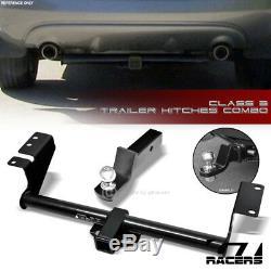 For 2003-2007 Nissan Murano Class 3 Trailer Hitch Receiver+2 Ball Bumper Mount