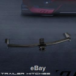 For 2003-2008 Pilot/2001+ Mdx Class 3 Matte Black railer Hitch Receiver Tow 2