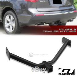 For 2007-2013 Acura Mdx Class 3 Matte Black Trailer Hitch Receiver Towing 2