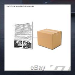 For 2008-2017 Enclave/Traverse Class 3 Matte Black Trailer Hitch Receiver Tow 2