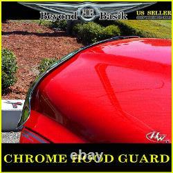 For 2009-2018 Dodge Ram 1500 Chrome Bug Shield Deflector Hood Guard Protector