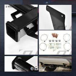 For 2013-2018 Ford Escape Class 3 Round Trailer Hitch Receiver Bumper Towing 2