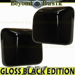 For 2018-2021 JEEP WRANGLER 20-22 Gladiator GLOSS BLACK Mirror COVERS No TSG HL