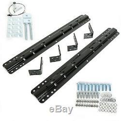 For Gooseneck / Fifth Wheel Trailer Hitch Base Rail Kit & Installation Kit 30035