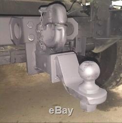 Military Humvee M998 Hitch + 24v Tail Light Kit For Civilian Trailer Hmmwv
