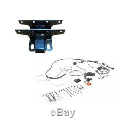 Mopar Trailer Tow Hitch Receiver & Wiring Harness Kit for Jeep Wrangler