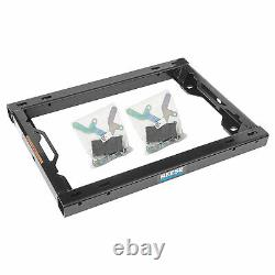 REESE 30156 Fifth Wheel Trailer Hitch Adapter Kit with Handles for Under Bed Rail