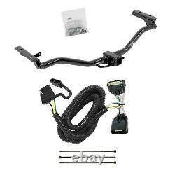 Rear Class 3 2 Receiver Trailer Hitch & Tow Wiring Kit for Ford Explorer