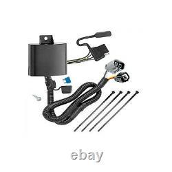 Rear Class 3 2 Receiver Trailer Hitch & Tow Wiring Kit for Kia Sedona Van