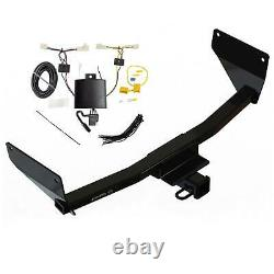 Rear Class 3 2 Receiver Trailer Hitch & Tow Wiring Kit for Toyota RAV4
