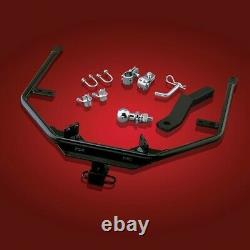 Receiver Trailer Hitch Kit for Honda Goldwing GL1500 by Show Chrome 2-437 2-437