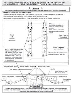 Reese Base Rail Kit & 16K Fifth Wheel Hitch For 75-16 Ford Trucks F250 F350 F450
