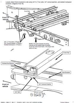 Reese Elite Kit Underbed Gooseneck Hitch for 11-19 Silverado Sierra 2500 3500