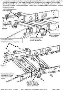 Reese Elite Rail Kit 18K 5th Wheel Hitch for 11-19 Silverado Sierra 2500 3500