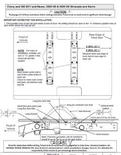 Reese Rail Kit and 25K Gooseneck Hitch For 99-19 Chevy Silverado 1500 2500 3500