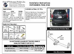 Reese Trailer Tow Hitch For 02-07 Saturn Vue with Wiring Harness Kit