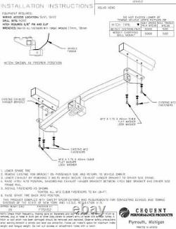 Reese Trailer Tow Hitch For 05-14 Volvo XC90 with Wiring Harness Kit