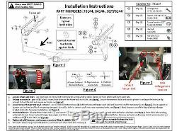 Reese Trailer Tow Hitch For 17-20 Jeep Compass New Body Style with Wiring Kit