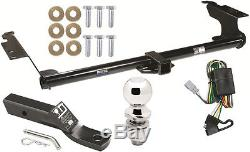 TRAILER HITCH FOR 1999-2004 HONDA ODYSSEY COMPLETE PKG With WIRING KIT CLASS 3 NEW