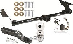TRAILER HITCH FOR 2005-2010 HONDA ODYSSEY COMPLETE PKG With WIRING KIT CLASS 3 NEW