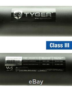 TYGER Hitch Kit Class 3 For 11-16 Durango / 2017 Durango / 11-17 Grand Cherokee