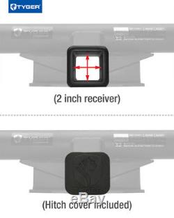 TYGER Hitch Kit Class 3 with 2 Receiver For 15-19 Chevy Colorado / GMC Canyon