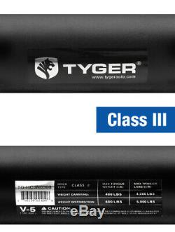 TYGER Hitch Kit Class 3 with 2 Receiver For 2005-2015 Nissan Xterra