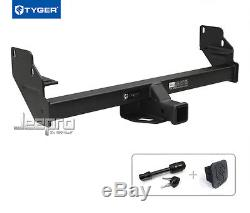 TYGER Hitch Kit Class 3 with 2 Receiver For 2005-2015 Toyota Tacoma