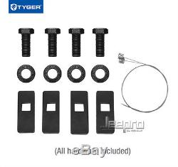 TYGER Hitch Kit Class 3 with 2 Receiver For 2014-2019 Subaru Outback