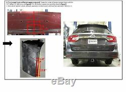 Trailer Hitch For 18-19 Honda Odyssey With Fuse Provisions with Wiring Harness Kit