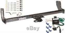 Trailer Hitch For 98-02 Chevy GEO Prizm 93-02 Toyota Corolla with Wiring Kit
