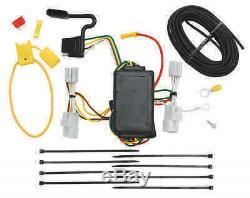 Trailer Hitch Package For 06-12 Toyota Rav4 Class 3 Tow Receiver + Wiring Kit