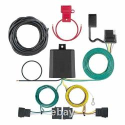 Trailer Hitch & Tow Wiring Kit for 2007-2010 Ford Edge, Lincoln MKX 2 Sq