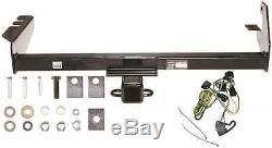 Trailer Hitch & Wiring Kit For 1995-2003 Dodge Dakota Fast Shipping No Drill