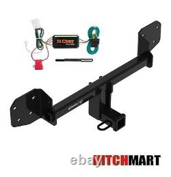 Trailer Hitch & Wiring Kit for 2010-2020 Subaru Outback Wagon Except Sport