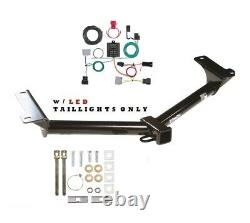 Trailer Hitch & Wiring Kit for 2011-2020 Dodge Journey withLED Taillights 75648