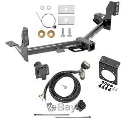 Trailer Tow Hitch & 7-Way RV Wiring For 15-20 Ford F-150 Harness Kit with Bracket