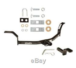 Trailer Tow Hitch For 01-05 Honda Civic 1-1/4 Receiver Class 1 with Draw Bar Kit