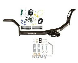 Trailer Tow Hitch For 01-05 Honda Civic Receiver with Wiring Harness Kit