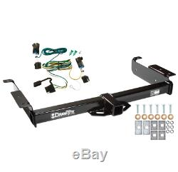 Trailer Tow Hitch For 03-20 Chevy Express GMC Savana 1500 2500 3500 withWiring Kit