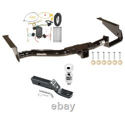 Trailer Tow Hitch For 04-06 Lexus RX330 07-09 RX350 with Wiring Kit & 2 Ball