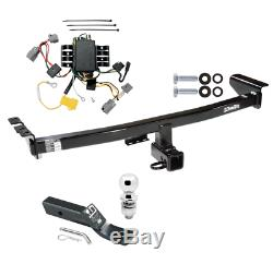 Trailer Tow Hitch For 05-14 Volvo XC90 Complete Package with Wiring Kit & 2 Ball