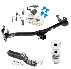 Trailer Tow Hitch For 06-10 Hummer H3 Complete Package with Wiring Kit and 2 Ball