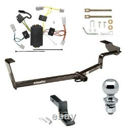 Trailer Tow Hitch For 06-15 Honda Civic Coupe Except Si w Draw Bar Kit