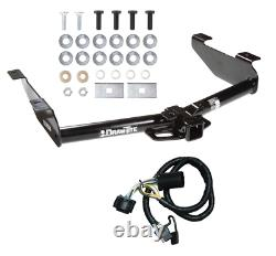 Trailer Tow Hitch For 07-10 Chevy Silverado GMC Sierra 2500 3500HD with Wiring Kit