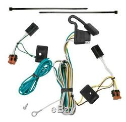 Trailer Tow Hitch For 07-12 GMC Acadia Complete Package with Wiring Kit & 2 Ball