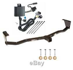 Trailer Tow Hitch For 07-12 Hyundai Veracruz All Styles Receiver with Wiring Kit